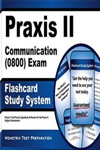 Free eBook Praxis II Communication (0800) Exam Flashcard Study System: Praxis II Test Practice Questions  Review for the Praxis II: Subject Assessments (Cards) download
