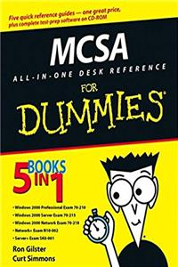 Free eBook MCSA All-In-One Desk Reference For Dummies download