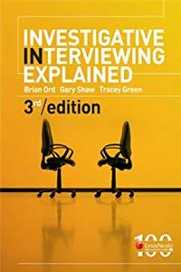 Free eBook Investigative Interviewing Explained download